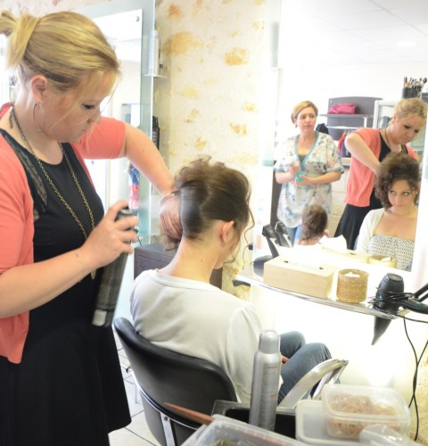 Mariage coiffure AK Privileges