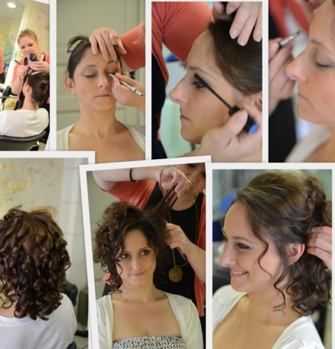 Mariage maquillage coiffure AK Privileges